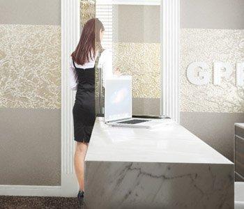 Wizualizacje 3D biura