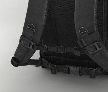 Wizualizacja 3D plecaka kurierskiego