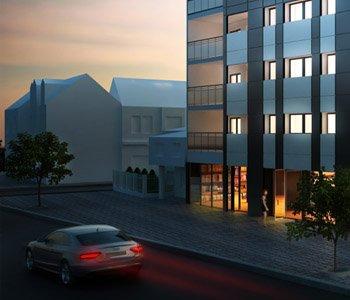 Wizualizacja architektoniczna bloku mieszkalnego 3d - 3dworld.pl
