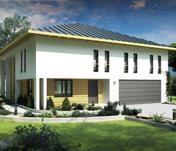 Wizualizacja domu jednorodzinnego 3d - 3dworld.pl