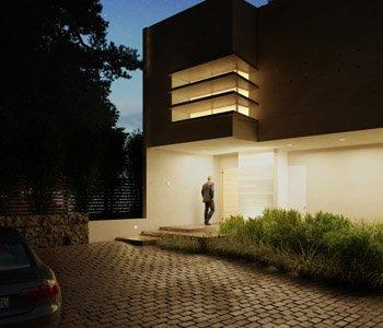 Wizualizacja architektoniczna domu 3d - 3dworld.pl