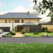 Wizualizacja 3D domu - 3dworld.pl
