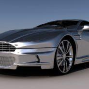 Wizualizacja samochodu Aston Martin - 3dworld.pl